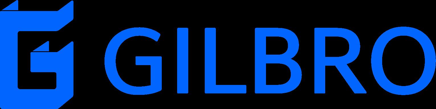 Gilbro Logo RGB Lysblå
